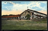 "view Picture postcard, ""Mission San Antonio de Padua, California - 1771"" digital asset number 1"