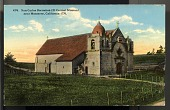 "view Picture postcard, ""San Carlos Borroméo (El Carmel Mission) near Monterey, California - 1770."" digital asset number 1"