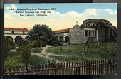 "view Picture postcard, ""Mission San Juan Capistrano - 1776. Midway Between San Diego and Los Angeles, California"" digital asset number 1"