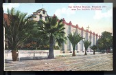 "view Picture postcard, ""San Gabriel Mission, Founded 1771 near Los Angeles, California"" digital asset number 1"