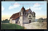 "view Picture postcard, ""San Carlos Mission (El Carmel), Founded 1770. Near Monterey, California"" digital asset number 1"