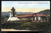 "view Picture postcard, ""Pala Mission Chapel, Founded 1816, near Oceanside, California"" digital asset number 1"