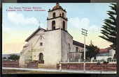 "view Picture postcard, ""San Buena Ventura Mission, Founded 1782, Ventura, California"" digital asset number 1"