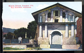 "view Postcard showing ""Mission Dolores, San Francisco, California"" digital asset number 1"