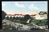 "view Picture postcard, ""San Juan Capistrano Mission, Founded 1776, Capistrano, California"" digital asset number 1"