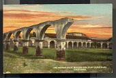 "view Picture postcard, ""The Broken Arch, Mission San Juan Capistrano, California"" digital asset number 1"