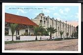 "view Picture postcard, ""San Gabriel Mission, Founded 1771, San Gabriel, California"" digital asset number 1"