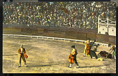 view Bull Fight, Madaor receiving Applause, C. Juarez, Mexico digital asset number 1