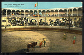 view Bull Fight, Killing the Bull, C. Juarez, Mexico digital asset number 1