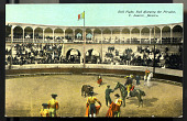 view Bull Fight, Bull Charging the Picador, C. Juarez, Mexico digital asset number 1