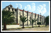 "view Postcard showing ""San Gabriel Mission, California"" digital asset number 1"