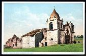 "view Picture postcard, ""Carmel Mission, Near Monterey, Calif."" digital asset number 1"