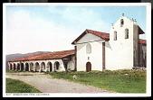 "view Picture postcard, ""Mission San Ynez, California"" digital asset number 1"