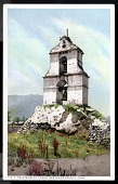 "view Picture postcard, ""Pala Mission Tower, San Diego County, Calif."" digital asset number 1"