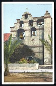 "view Picture postcard, ""The Chimes, San Gabriel Mission"" digital asset number 1"