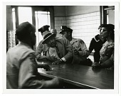 view Arrest of Dr. King digital asset: Photograph by Charles Moore, Arrest of Dr. King, Black Star Publishing Company