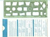 view IBM GX20-8020-1 UM/010 Flowcharting Template digital asset: Flowcharting Template, IBM GX20-8020-1 UM/010