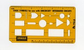view Sprague's Logic Symbols for Use with Unicircuit Integrated Circuits digital asset: Flowcharting Template, Sprague