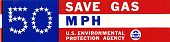 "view EPA ""Save Gas"" Bumper Sticker digital asset number 1"