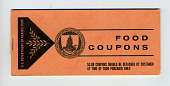 view food coupons digital asset: U.S. Department of Agriculture Food Coupons $2.00 coupons booklet, front cover.