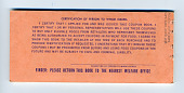 view food coupons digital asset: U.S. Department of Agriculture Food Coupons $108.00 booklet, back cover.