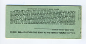 view food coupons digital asset: U.S. Department of Agriculture Food Coupons $3.00 booklet, back cover.