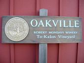 view Robert Mondavi's To-Kalon Vineyard Sign digital asset number 1