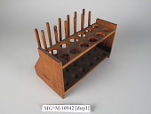view test tube rack with test tubes (8) digital asset number 1