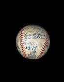 view Baseball, signed by the 1949 Cincinnati Reds digital asset number 1