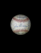 view Baseball, signed by the 1949 New York Yankees digital asset number 1