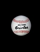 view Baltimore Orioles Autographed Baseball digital asset number 1