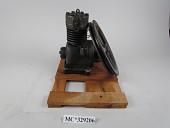 view Tecumseh HP14 Refrigeration Compressor, ca. 1930 digital asset: Wheel to the side.