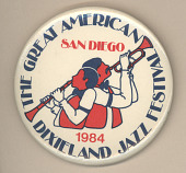 view The Great American Dixieland Jazz Festival Button digital asset number 1