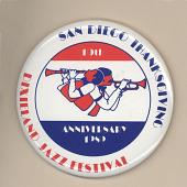 view San Diego Thanksgiving Dixieland Jazz Festival Button digital asset number 1