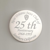 view New Orleans Jazz Club of Southern California Button digital asset number 1