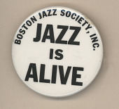 view Boston Jazz Society Button digital asset number 1