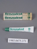view Benzodent Analgesic Denture Ointment digital asset number 1