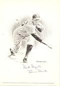 view Lithograph of baseball player Robin Roberts digital asset number 1