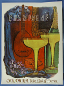 """view Poster, """"Champagne"""" digital asset number 1"""