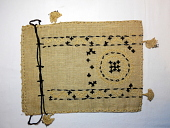 "view Armenian embroidery ""Folk handicraft"" purse; Denison House, Boston, digital asset number 1"