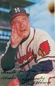 view Fred Hanley Autographed Postcard digital asset number 1