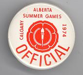 view Calgary Alberta Summer Games button digital asset number 1