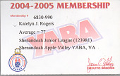 view Bowling League Membership Card digital asset number 1