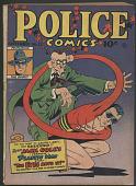 view <i>Police Comics</i> No. 22 digital asset number 1