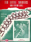 view Sheet Music, Ten Little Soldiers (On a Ten Day Leave) digital asset: Sheet Music - Ten Little Soldiers (On a Ten Day Leave)