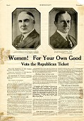 view Presidential Campaign Advertisement, 1920 digital asset number 1