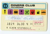view Diners Club Card -- Expires Last Day of Apr. 72 digital asset number 1