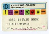 view Diners Club Card --Valid 05/74 thru 04/75 digital asset number 1