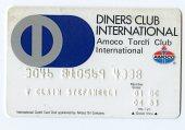 view Diners Club International Credit Card -- Expires 4/83 digital asset number 1