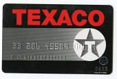 view Texaco Gas Card -- Expires 06/83 digital asset number 1